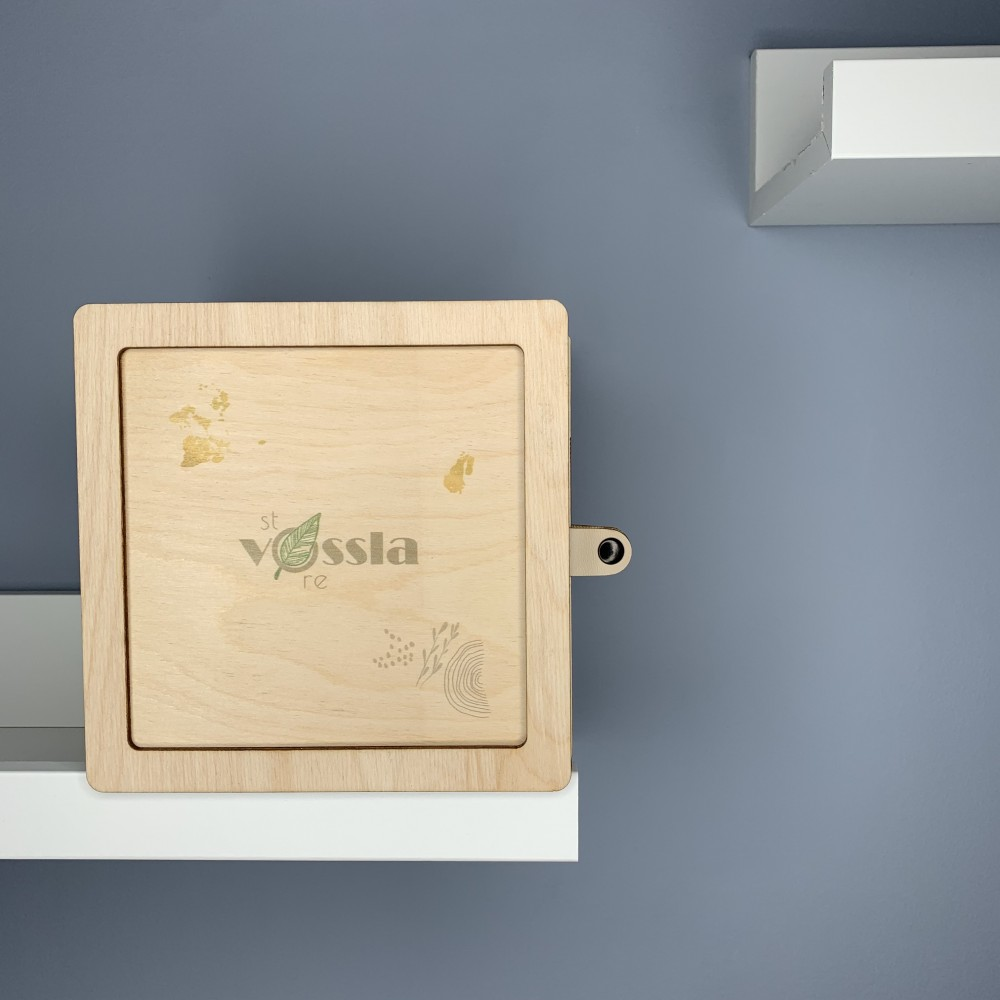 Деревянная коробка-шкатулка BOX 002