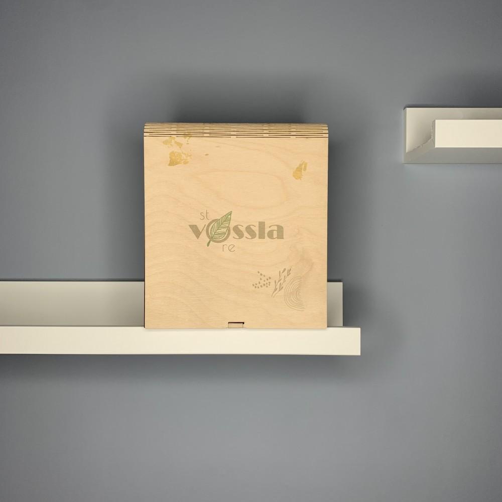 Деревянная коробка-книга BOX 005