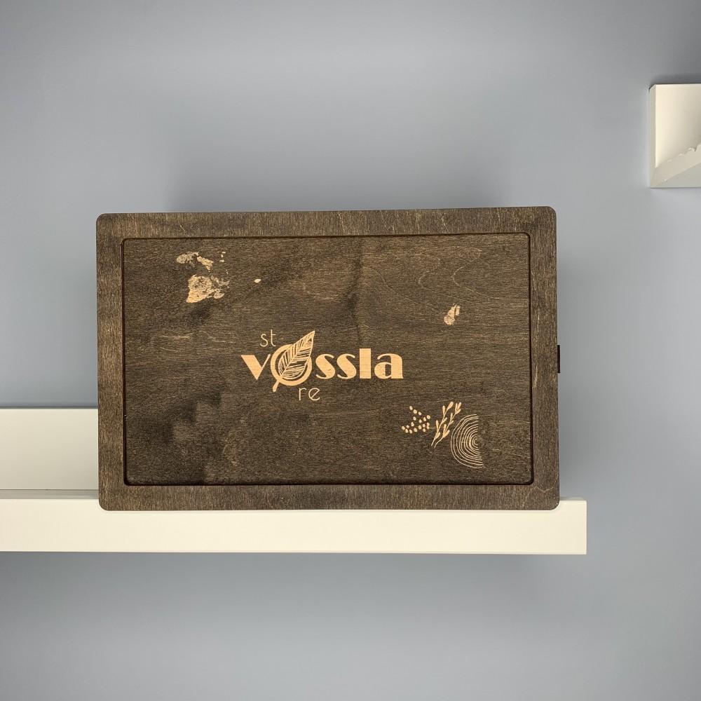 Деревянная коробка-шкатулка BOX 003