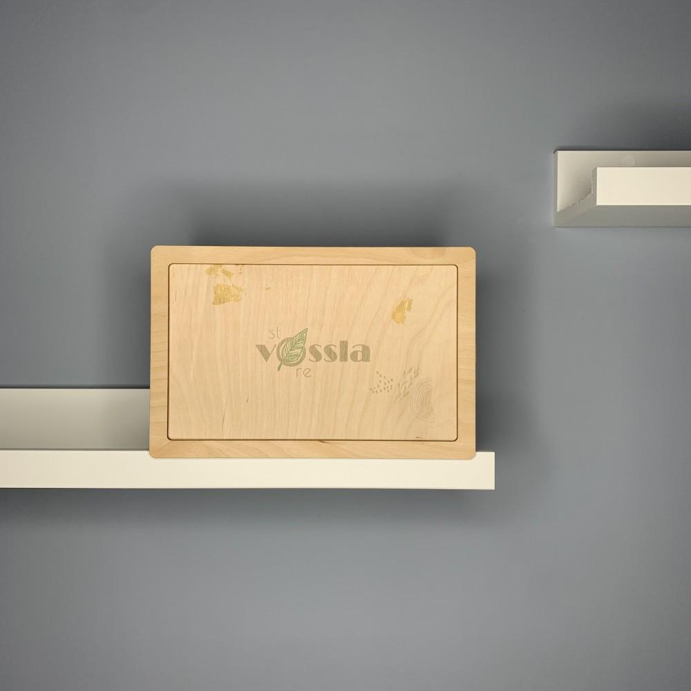 Деревянная коробка-шкатулка BOX 004