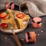 Медовый мусс с клубникой, 30 грамм