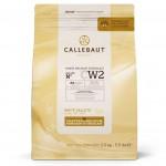 Бельгийский белый шоколад CALLEBAUT CW2 (2,5кг)