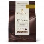 Бельгийский горький шоколад CALLEBAUT 70-30-38 (2,5кг)