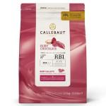 Бельгийский розовый шоколад CALLEBAUT RUBY (2,5кг)