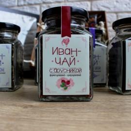 Иван-чай с брусникой гранулированный (80 гр.)