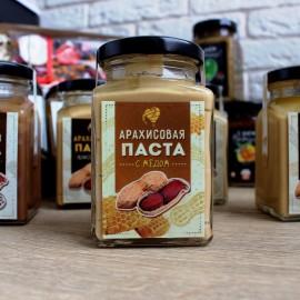 Арахисовая паста с натуральным медом (240 гр)
