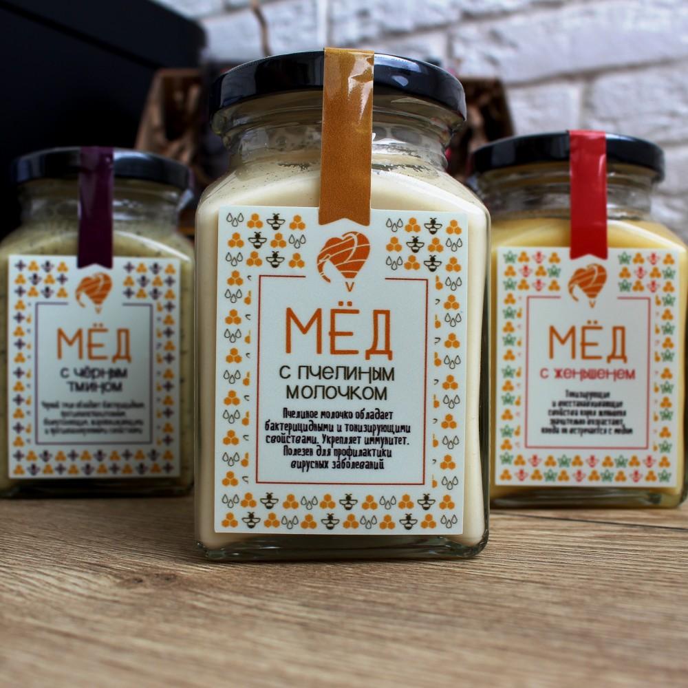 Мёд с пчелиным молочком
