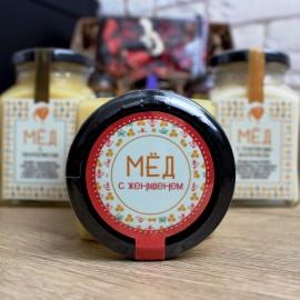 Мёд с женьшенем