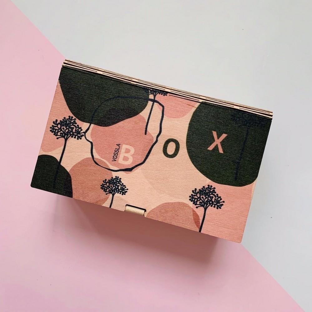 Деревянная коробка-книга BOX 03