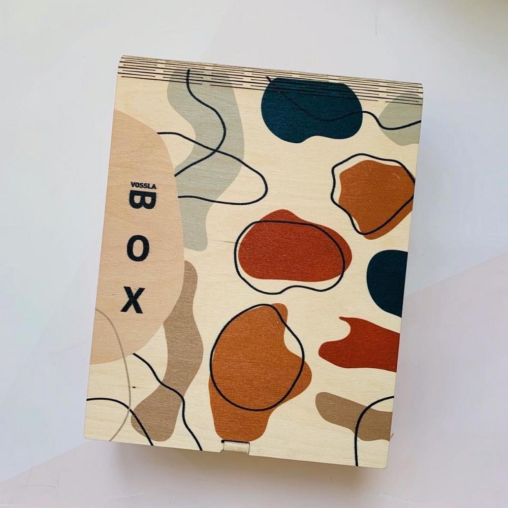 Деревянная коробка-книга BOX 05