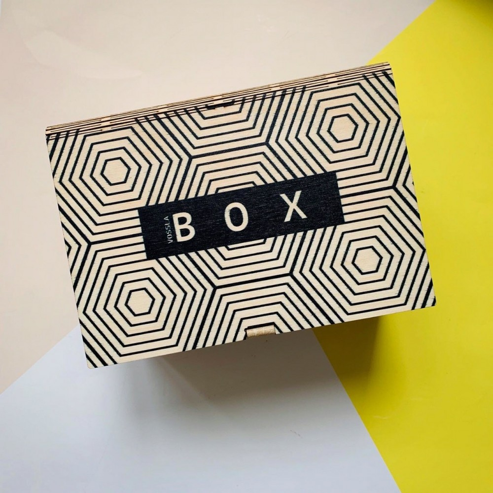 Деревянная коробка-книга BOX 06